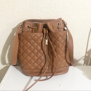 Steve Madden Quilted Convertible Backpack